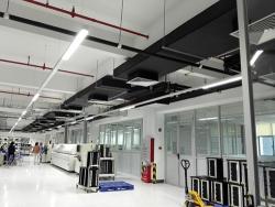 明纬(广州)花都工厂 灯光控制 项目