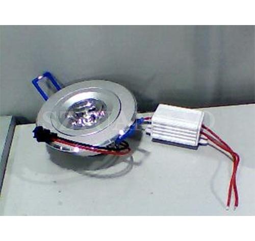 智能控制系统 LED大功率3w天花灯