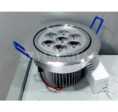 智能控制系统 LED大功率7W天花灯