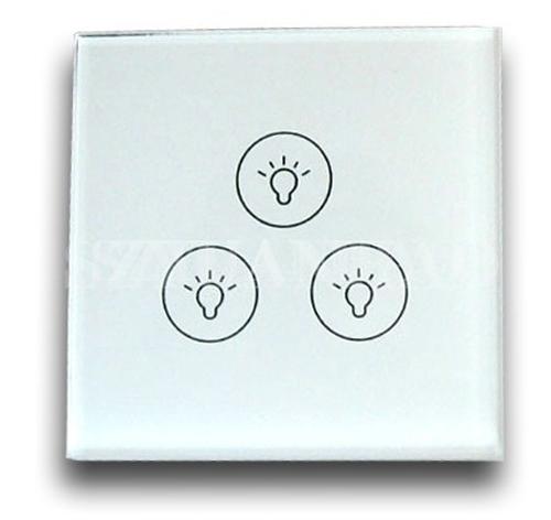 DALI调光系统 DALI遥控触摸调光按键 三键