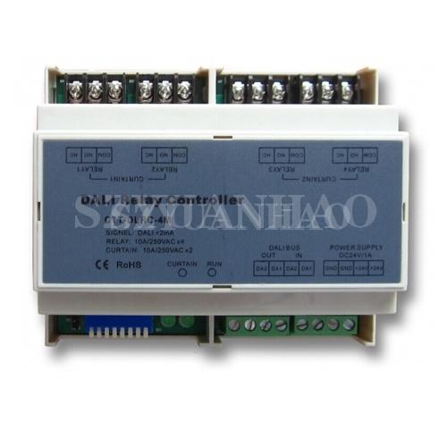 DALI调光系统 DALI继电器/窗帘电机控制器