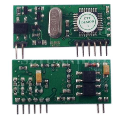 3路PWM DALI解码模块三通道 DALI调光电源方案
