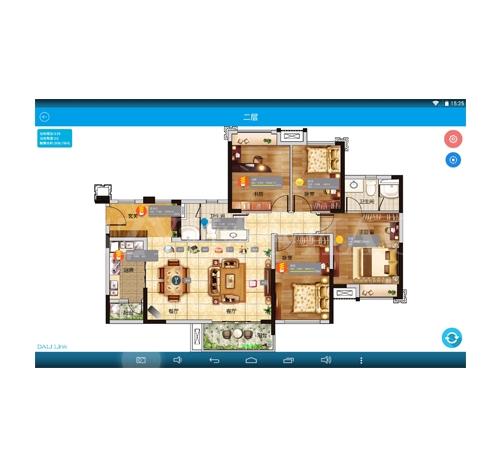 Smart DALI app手机/平板控制软件