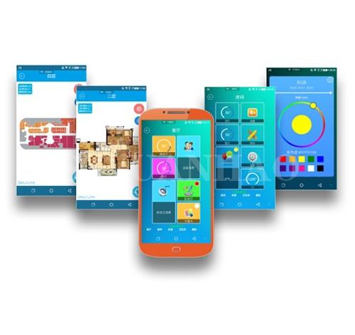 手机App控制Dali调光