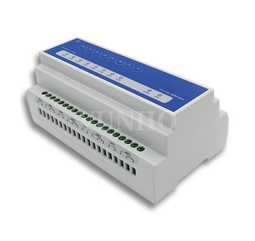RS485 modbus八路功率继电器16A/250VAC x8