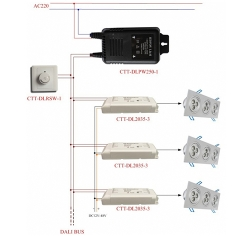 DALI Simple DALI调光系统