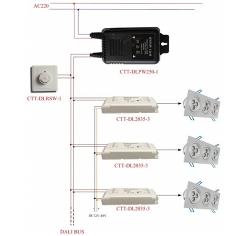 DALI Simple智能调光控制系统