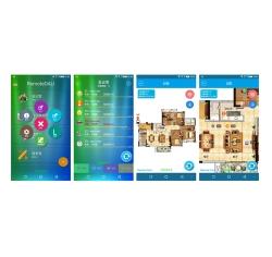 wifi无线远程调光 DALI灯光控制系统 Android App