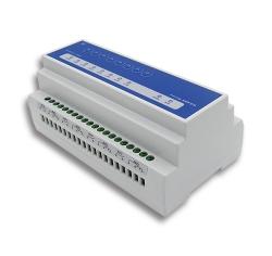 8路RS485 modbus继电器16A x8