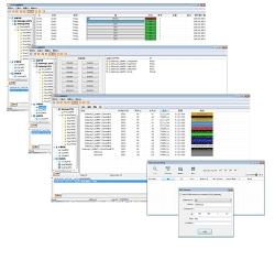 智能照明调光调色灯光控制软件DT6 DT8灯光控制软件Dali