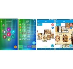 手机灯光控制软件调光调色智能照明平板手机App Dali