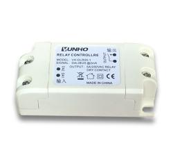 上海无需供电 单路磁保持继电器执行器 5A/250VAC DALI BUS DT7干接点输出