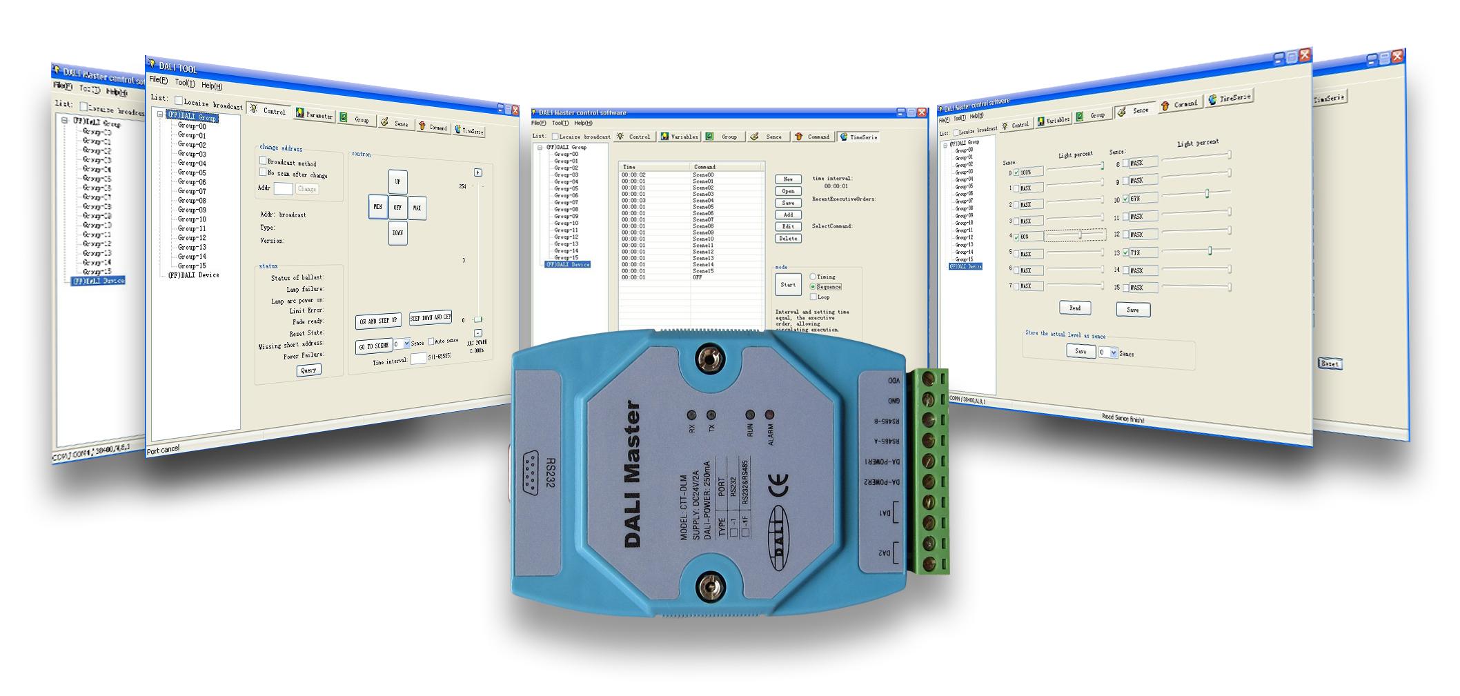 DALI调光系统安装调试