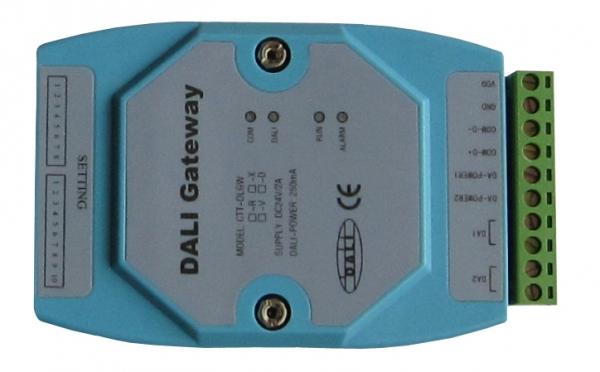 RS485转DALI,HMI PLC控制DALI灯光控制器