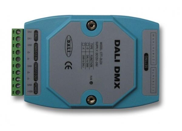 DALI信号转DMX512信号